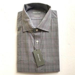 Michael Kors slim fit long sleeves dress shirt -XL
